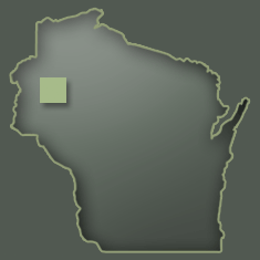 Map of Barron County